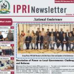 IPRI Newsletter October 2015