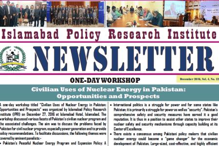 IPRI Newsletter December 2016
