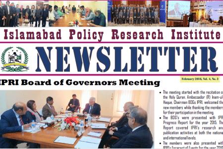 IPRI Newsletter February 2016