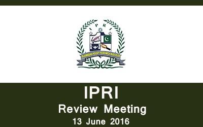 IPRI Review Meeting