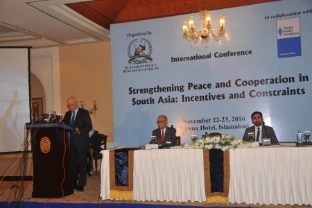 "International Conference on ""Strengthening Peace and Cooperation in South Asia: Incentives and Constraints"""