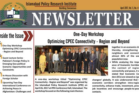 IPRI Newsletter April 2017